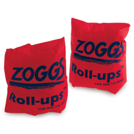 Zoggs Red Roll Ups (6-12yrs)